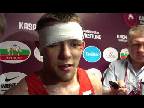 Artem SURKOV (RUS), 67kg Greco-Roman European Champion