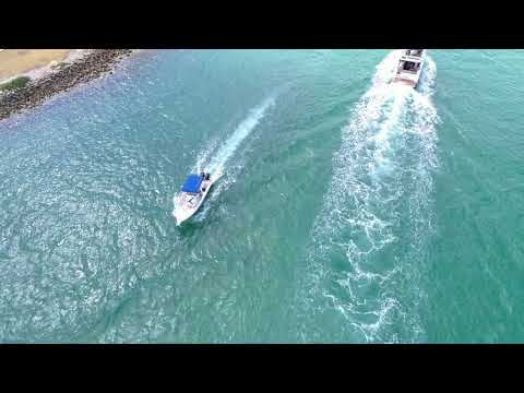 More P4P aerial footage at Haulover Park