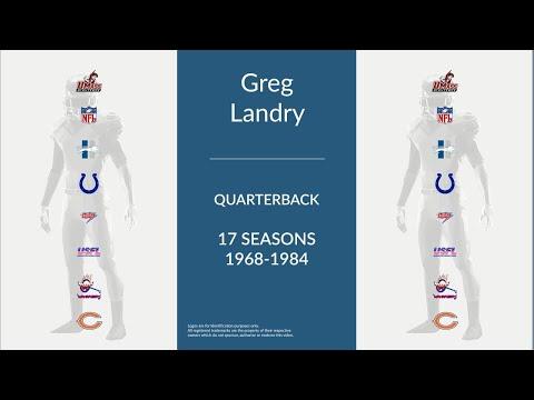 Greg Landry: Football Quarterback