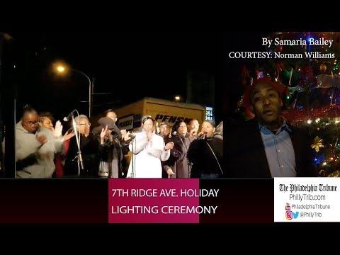 7th Annual Ridge Ave. Holiday Lighting Ceremony