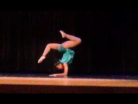 My Acrobatic Solo At The Talent Show