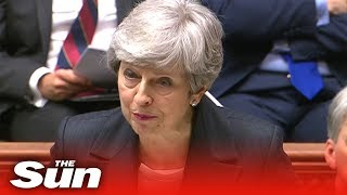 ​Prime Minister Theresa May delivers her ten point Brexit plan to the Commons​