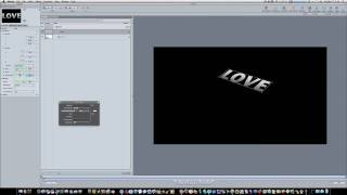 Motion 4 Tutorial: Simulated 3D Text Shadows