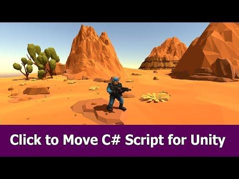 Click to Move Unity C Script