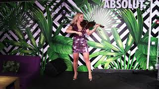 Clean Bandit – Baby (violin cover) live performance by Aleeka