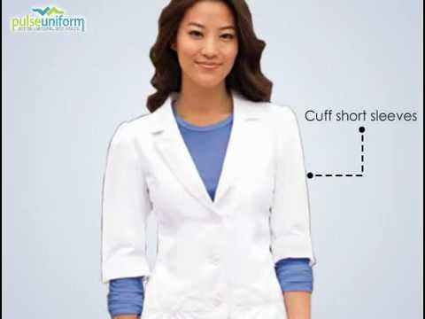 BA-4414 Barco Uniform - 28 Inch Short Sleeve Lab Coat