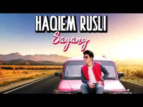 HAQIEM RUSLI - SAYANG ( OFFICIAL LYRICS VIDEO ) HD