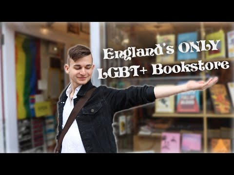 Inside England's Only LGBT+ Bookstore | Being Gay In London 💂🏳️‍🌈