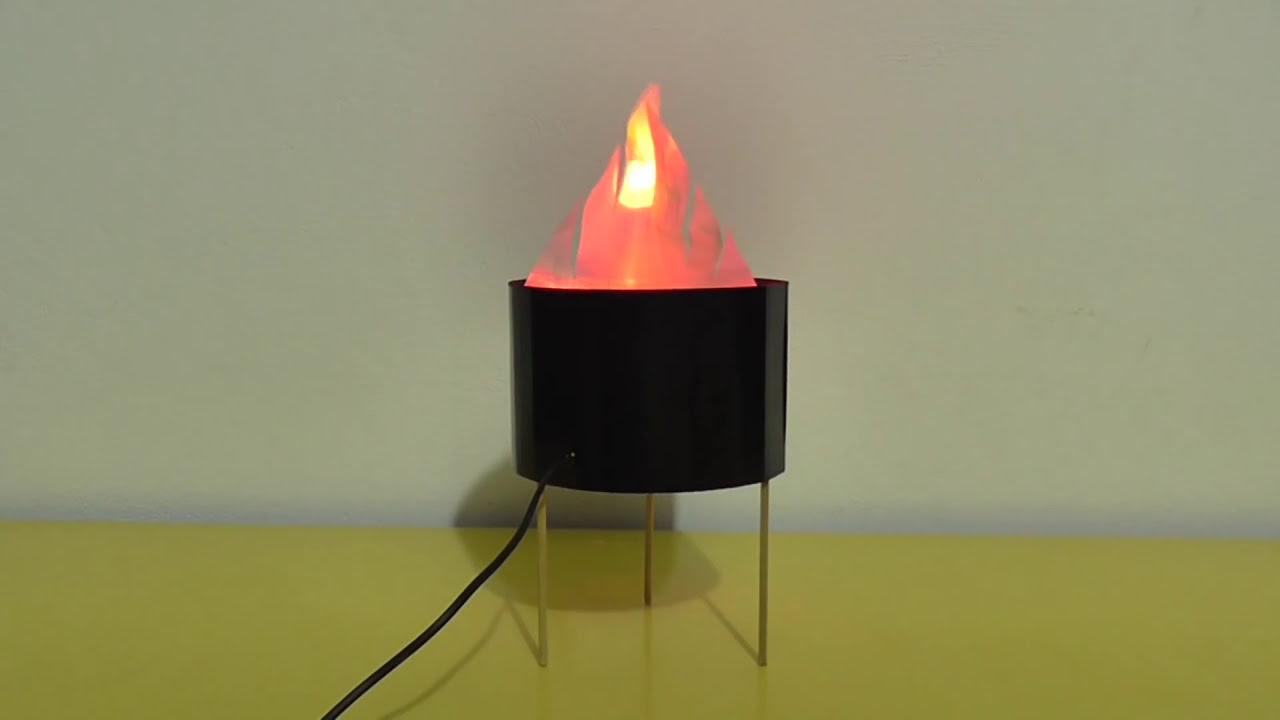 C mo hacer llama de fuego artificial casero muy f cil de for Como se hace un lago artificial