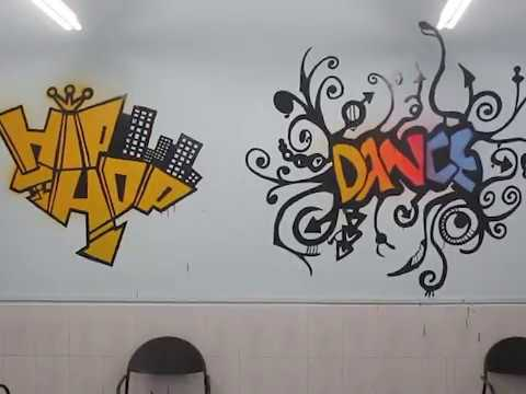 Wall Painting@Dance Room