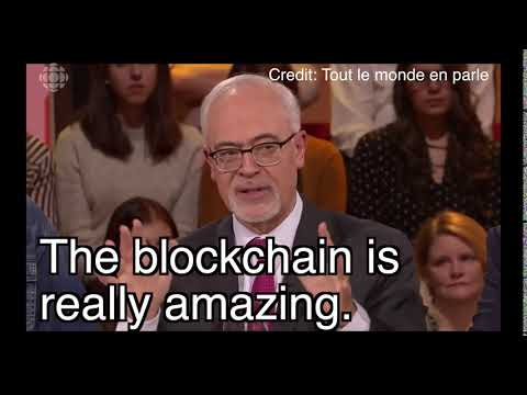 «The blockchain is really amazing», Quebec Minister of Finance