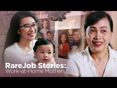 RareJob Stories: Work-at-home Mothers