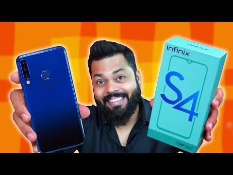 32Mp Selfie Camera Phone सिर्फ ₹9000 mein!!! Infinix S4 Unboxing & First Impressions