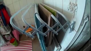 видео Сушилка для белья в ванную. Какую сушилку выбрать?
