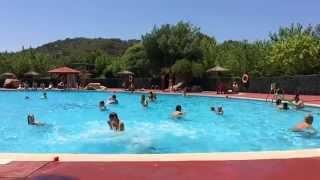 Slomo zwembad Tossa de Mar camping Can Marti