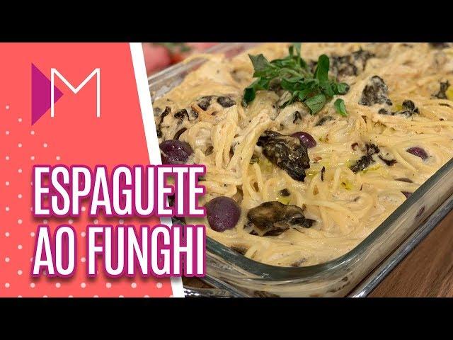 Espaguete ao funghi - Mulheres (08/03/2019)