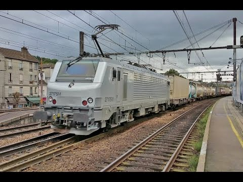 Trains RER TER INTERCITES TGV et FRET Gare de VILLENEUVE-SAINT-GEORGES