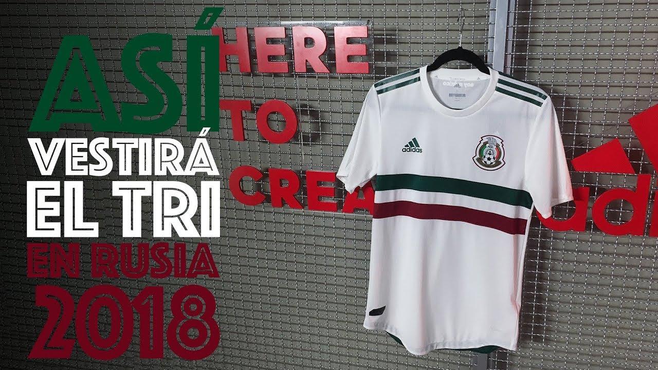 85ea3f257c8ec Así es el nuevo jersey visitante de la Selección Mexicana - YouTube