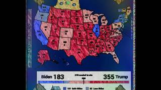 The best case scenario for Donald Trump in the 2020 presidential election