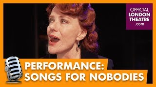 Bernadette Robinson performs Strange Fruit by Billie Holiday
