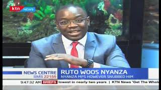 Deputy President William Ruto on a charm offensive in Nyanza