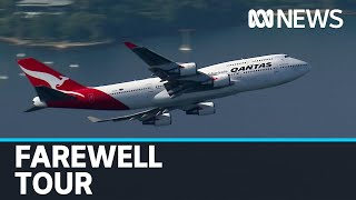 After almost 50 years it's the end of an era as Qantas' last 747s embark on farewell tour | ABC News