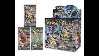 Pokémon Ultra Prism Booster box opening part 1/2
