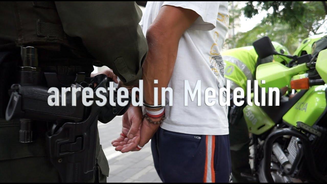 We got arrested in Medellin /Colombia Travel Vlog/