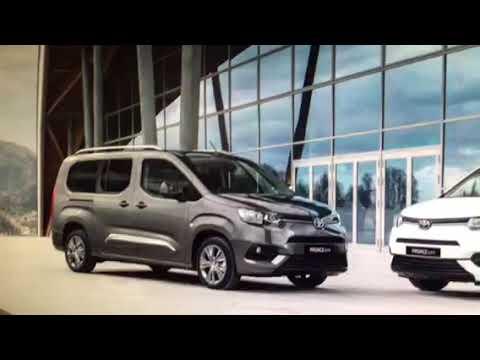 2020 toyota proace electric vehicle - youtube