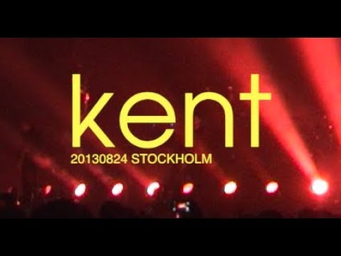 Kent Live Stockholm, Tele2 Arena, 24 August 2103 - full