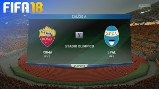 Download Video FIFA 18 - AS Roma vs. SPAL @ Stadio Olimpico MP3 3GP MP4