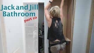 Jack and Jill Bathroom -  part 10