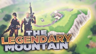 HIDDEN LEGENDARY MOUNTAIN (FORTNITE BATTLE ROYALE) 21 KILL WIN