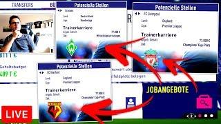 VON HERTHA ZUUU ... ??! 🔝🤔 FIFA 18 Karrieremodus Live Stream (Deutsch)
