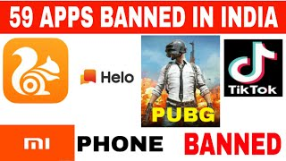 Tiktok Ban In India - Government Bans 59 Apps In India - Pubg App Game Over 📵📵📵........