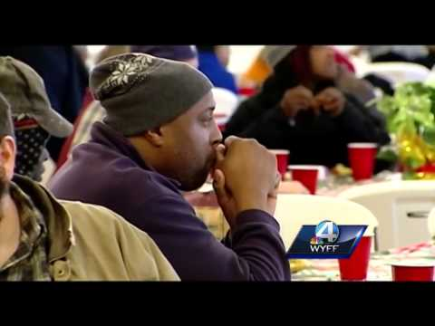 Volunteers give their time on Christmas at Spartanburg Soup Kitchen
