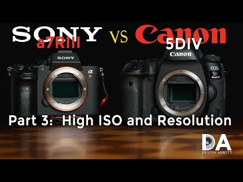 Sony A7R3 Vs Canon 5D Mark IV | Part 3: High ISO And Resolution