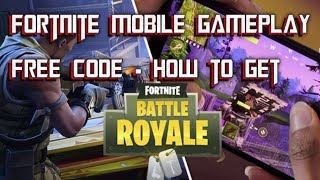 FORTNITE MOBILE - HOW TO DOWNLOAD!