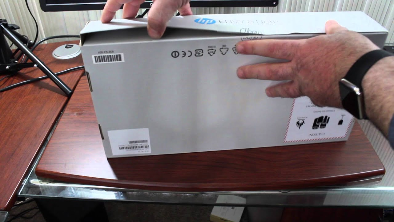 HP Envy 8 Note Unboxing