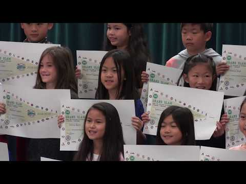 Grand Slam Award 3rd Grade - COUNTRY SPRINGS ELEMENTARY SCHOOL, December 5, 2018