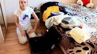 видео Как компактно сложить вещи в чемодан