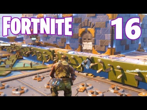 [16] Launch The Rocket! The Grand Fortress! (Let's Play FortNite Multiplayer)