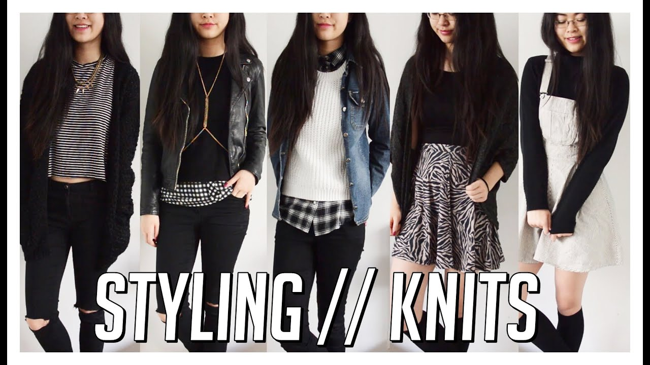 How I Style // Knits, Jumpers/Sweaters & Cardigans ♡ 5 Winter ...