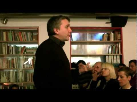 Mark Fisher: The Political Aesthetics of Postcapitalism / Methodologies of Valorization, 16/11/2011