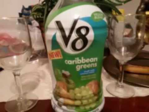 V8 Caribbean greens juice review stay health guys