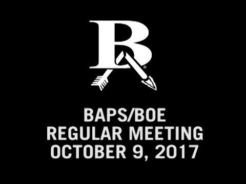 Oct  9, 2017 BOE