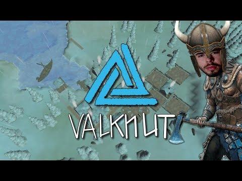 Valknut - A VILA NÓRDICA MAIS BUGADA DO UNIVERSO!!! (BORA CONHECER) (Gameplay / PC / PTBR) HD