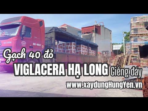 Gạch 40 đỏ Viglacera Hạ Long - Giếng Đáy   Nhà Phân Phối Vũ Văn Thắng - 0221.3 862 259