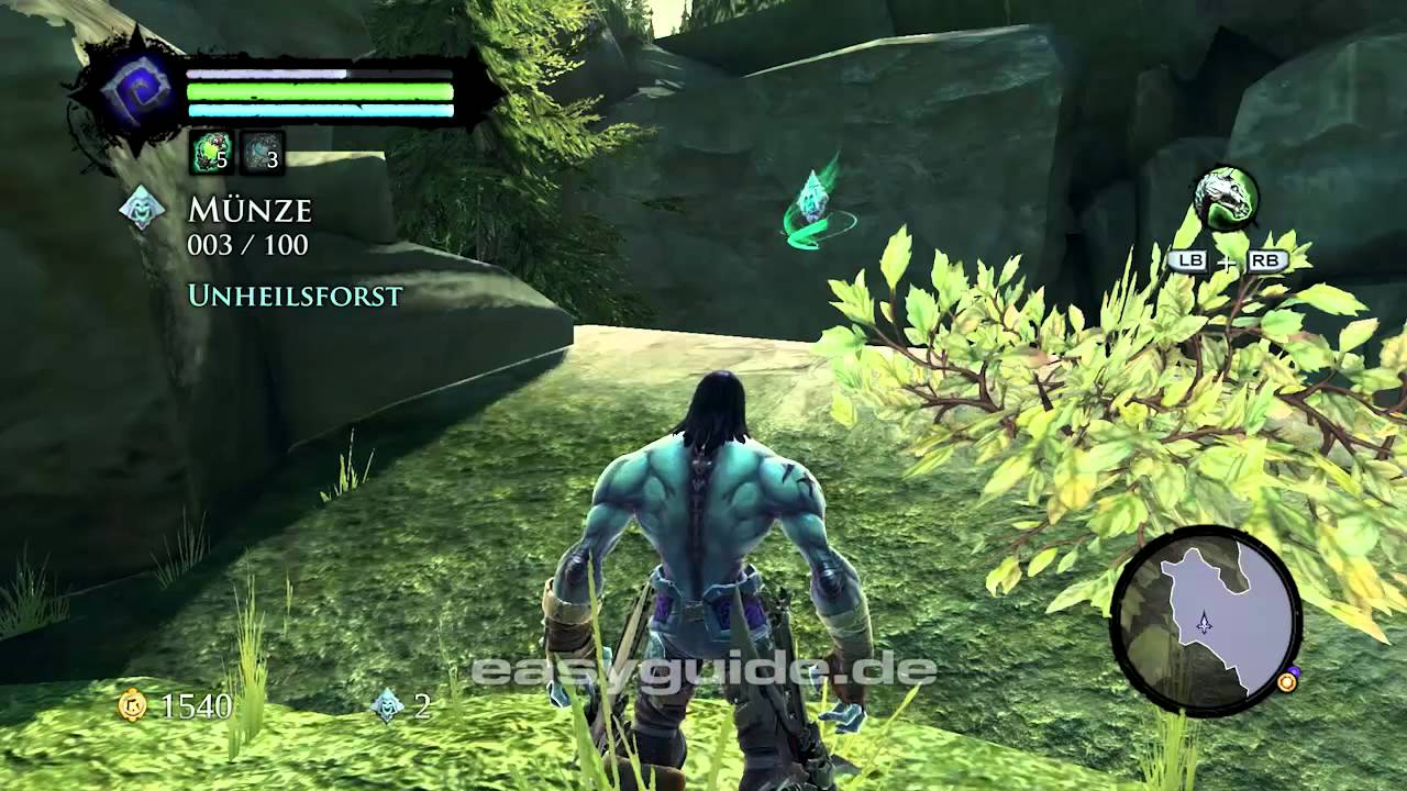 Darksiders 2 Fundorte Der Sammelobjekte Teil 1 Youtube
