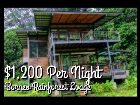 S2 E10: Our $1,200 a night VILLA. Borneo Rainforest Lodge, Malaysia Travel Guide